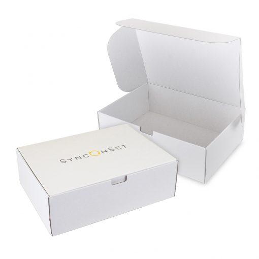 "Custom Boxes Econolux Mailer Large Size 13"" x 13"" x 3"""