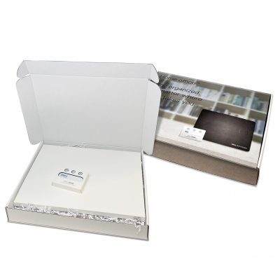 "Custom Boxes Econolux Mailer Large Size 14"" x 11"" x 2"""