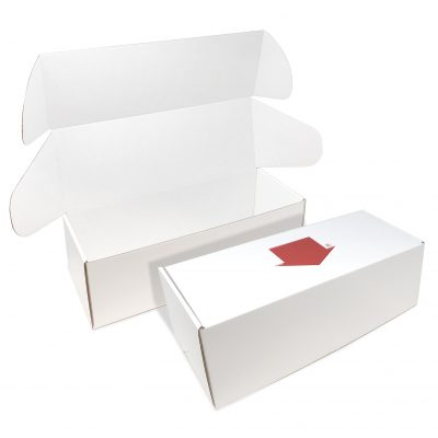 "Custom Boxes Econolux Mailer Large Size 15"" x 5.5"" x 5"""