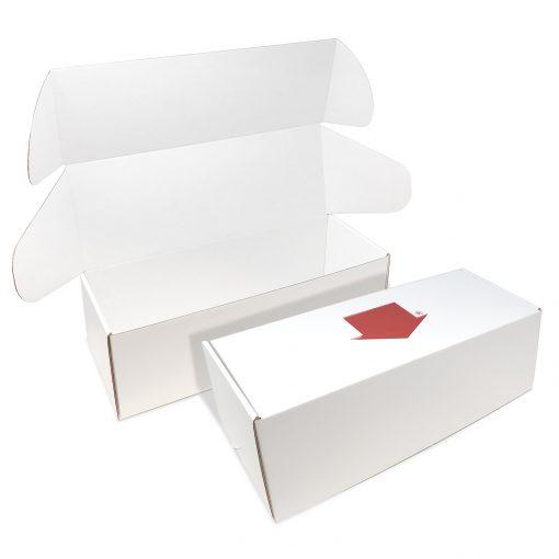 "Custom Boxes Econolux Mailer Large Size 15"" x 5.5"" x 5"""
