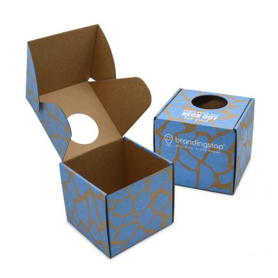 "Custom Boxes Econolux Mailer Large Size 5.5"" x 5.5"" x 5.25"""