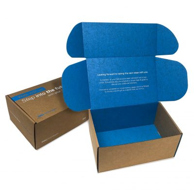 "Custom Boxes Econolux Mailer Large Size 9"" x 6"" x 4"""