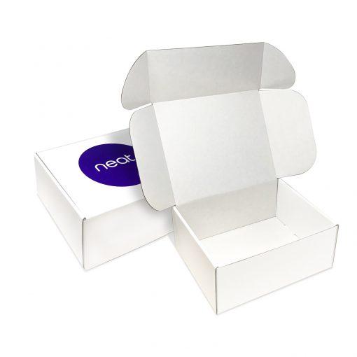 "Custom Boxes Econolux Mailer Large Size 9.5"" x 8"" x 4"""