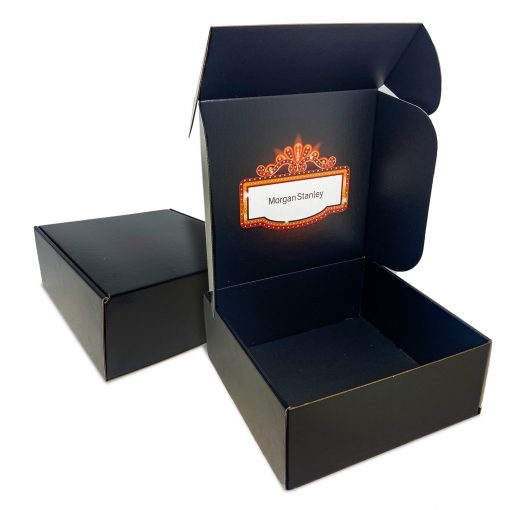 "Custom Boxes Econolux Mailer Large Size 9.5"" x 9.5"" x 4"""