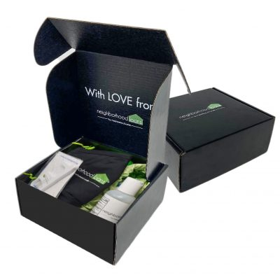 "Custom Boxes Econolux Mailer Size 5.5"" x 5.5"" x 2.5"""
