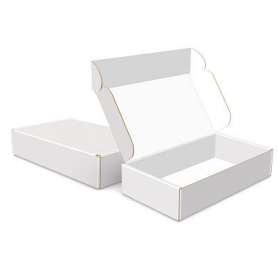 "Custom Boxes Econolux Mailer Size 8"" x 4.5"" x 1.75"""