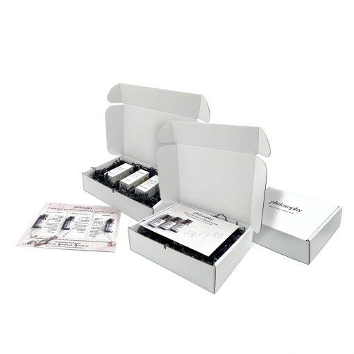 "Custom Boxes Econolux Mailer Size 8"" x 6"" x 2"""
