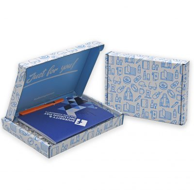 "Custom Boxes Econolux Mailer Small Size 8"" x 6"" x 1"""